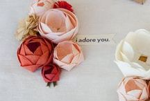 Paper Flowers / Paper flower inspiration from DIY to advanced professional