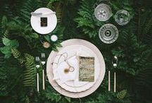 Nature Wedding / Inspiration for incorporating natural elements into weddings.