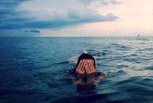 Deep | Blue | Sea / It's fierce, its ferocious, and it encourages all the souls that seek it. / by Courtney Cline
