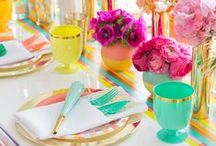 Fabulous place settings & Tablescapes