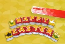 Easter / Let us take you on a sunny walk through the country with our cakes and confectionery.