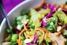 Food: Salads / by Genifer Pohrman