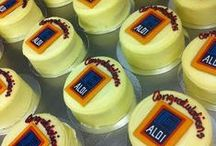 Corporate / Konditor & Cook do corporate orders too! We're here to customise any cakes, cupcakes, Magic Cakes, biscuits, or any other treats, as well as pacakaging.