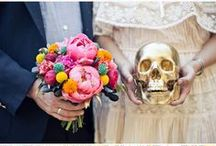 Wedding Inspiration:  Day of the Dead / Día de Muertos is a holiday that focuses on gatherings of family and friends to pray for and remember friends and family members who have died.  I love the vibrant colors and emphasis on family that this holiday provides.