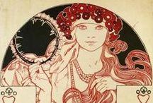 art nouveau / by Annamakes