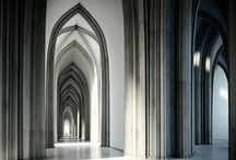 Gothic Design / Gothic design is dark, moody and reflective of the hallmarks of the eponymous architecture movement — think intricate stonework, pointed arches and a sense of rich grandeur. Go ahead and go goth.