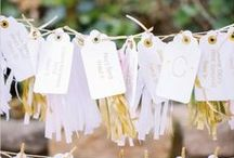 Escort Cards and Seating Charts