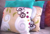 Tracy's Handmade Stuff / My sister, Tracy, has a great Etsy Shop. Check out her awesome pillows, purses and wallets!