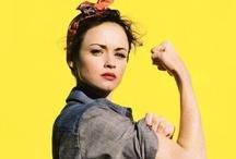 girlpower / by Stacy Donovan Zapar