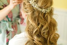 Wedding Hair//Makeup / by Danielle Stulen