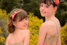 Bridesmaids/Flowergirls poses / Maides of the wedding poses / by Studio 616 Photography