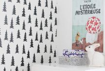 [little bedroom love] / R's new bedroom - mountains, bears and forrest.