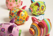 Paint a Pig! Contest (inspiration) / Our studio is doing our second Paint a Pig art contest Feb.1- Mar.12! Come paint a piggy bank as cute/silly/fantastic as you can and help us raise money for a good cause! Judging will be spring break in the studio, ages 3-103 welcome to participate. For more info, visit www.paintedpigstudio.com (link in profile)