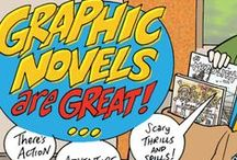 Great Graphic Novels / Non super hero based graphic novels. These books vary widely in content and maturity level.