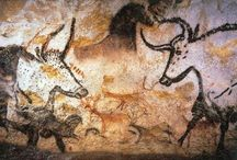 Art: Cave Paintings, Rock Art, Petroglyphs / by Holly Lindquist