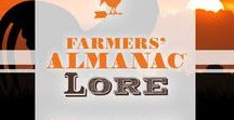 Farmers' Almanac Lore / Folklore favorites, from weather to birthstones and everything in between.