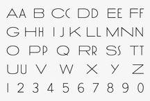 alphabets / by arielawonders