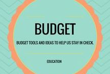 Budget / Budget tools and ideas to help us stay in check.
