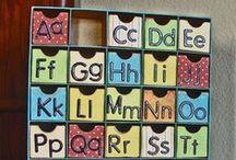 Alphabet / Teaching the alphabet!