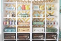 Sewing corner / by Wendy Bertello