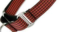 Stylish Martingale Collars / Slip-on Martingale Collars and Buckle Style Martingales for your 4-legged Escape Artist