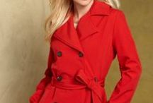"""Trench Coats / Trench coats are one of those basics that never go out of style and are perfect for the """"inbetween weather"""" of spring and fall. / by Fabulous After 40 - Deborah Boland"""