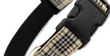 Preppy Plaid Dog Collars for Your Pup / Traditional tartan designs for the well-dressed dog.