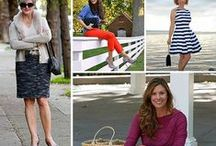 What I Wore - Over 40 Style / Street Chic from Fabulous After 40 Styleblazers. See what they are wearing this week - inspirational!