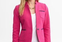 Fabulous Jackets / A jacket is the perfect piece for your over 40 wardrobe. It gives your soft, mid-life body shape when it's fitted and nips in nicely at the waist. Here's a few of the latest must-haves! / by Fabulous After 40 - Deborah Boland