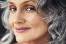 I Love My Gray Hair! / Are you 40, 50 or more and thinking of going gray,  but need a little inspiration? The take a look at these silver foxes!