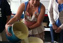 Food - Making Butter, Cheese & Milk