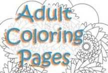 Coloring Outside the Lines / Adult coloring books and adult coloring pages. Includes both free printable coloring pages and paid printable coloring pages plus free coloring books and paid coloring books.