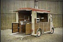 Food trucks / Inspiration pour des food trucks appétissants et graphiquement très présentables.