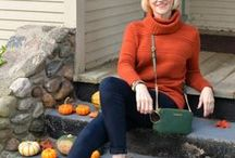 Cozy Knits for Fall / Warm, cozy sweaters for women over 40, 50 and beyond.