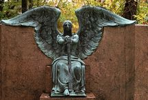 Macabre and Beautiful / #Cemetary #Sculpture #Art
