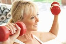 Fitness Tips for Mature Men and Women / Fitness tutorials, articles, clothing and gadgets for mature men and women ~ / by Prayer Notes by Cynthia