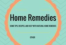 Home Remedies / Some tips, recipes, and help with natural home remedies.