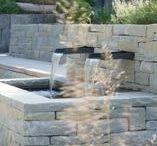 Brunnen Garten / Well garden / Wasserspiele in klassischer Form oder als innovative moderne  Neuerscheinung