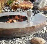 Feuerelemente Garten / Fireplaces garden