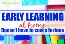 Education: Early Learning / Educational posts to develop early learning.