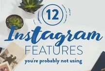 Instagram Resources / Instagram resources including tips and tricks.
