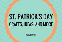 St. Patrick's Day Crafts and More!