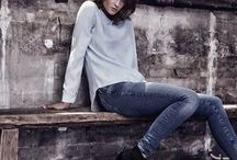 The Denim Look / A collection of denim style and looks along with available cuts and styles from Fox and Scout