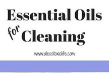 Best Essential Oils For Cleaning Your Home / Essential Oils Cleaning recipes. Essential oils for cleaning the kitchen. Essential Oils for cleaning smells in the kitchen and bathroom. DIY household cleaners.