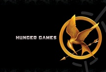 """The Hunger Games / """"Welcome, welcome! The time has come to select one courageous young man and woman for the honor of representing District 12 in the 74th annual HungerGames!"""" - Effie Trinket / by Rachel Killian"""