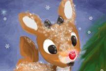 Christmas / Let it snow, let it snow, let it snow♥ / by Rachel Killian