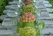 Green theme / All things green and wonderful for your wedding day