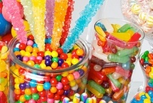 Sweet or Candy Buffet / This board is for all things sweet and beautiful. A selection of originality and wonderful designs in sweet buffets.