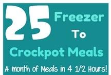Crockpot meals / by Betty Nunes