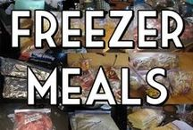 Freezer Meals / by Makenzie Carter Hawk